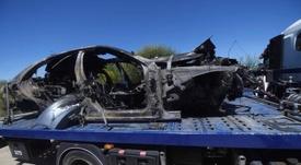 Nuevos datos sobre el accidente de Reyes. EFE