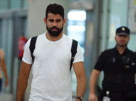 Costa will miss the Juventus game through suspension. EFE
