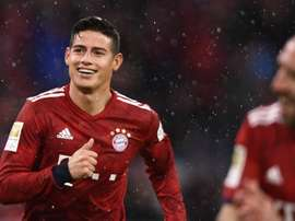 Napoli do not understand when they cannot have James on loan like Bayern did. EFE/Archivo