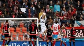 Juan Carlos está cerca de abandonar Lugo para recalar en el Girona. EFE