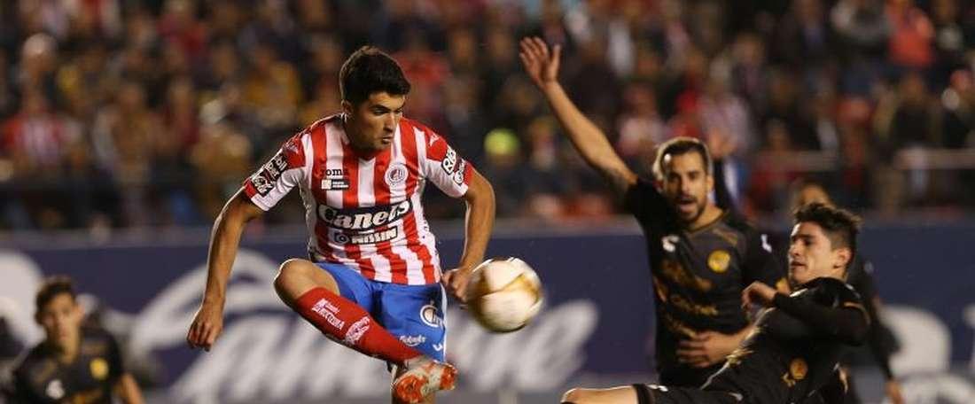 Nico Ibáñez, nouveau joueur de l'Atlético. EFE
