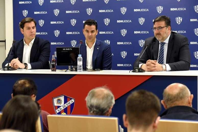 El Huesca avisó: tomará medidas legales si manchan su nombre. EFE