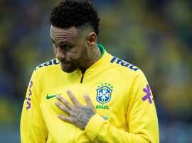 L'asso brasiliano del PSG, ex Barça, Neymar. EFE