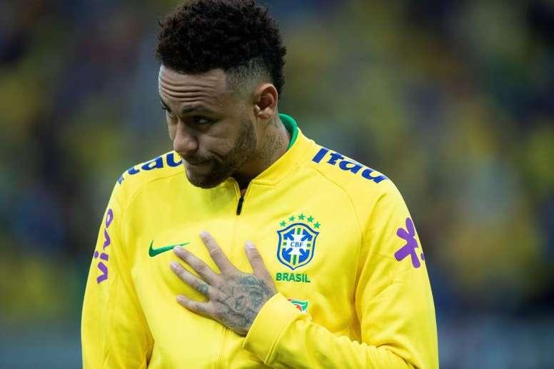 Des nouvelles de la blessure de Neymar. EFE