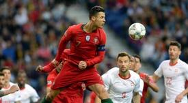 Cristiano Ronaldo se voit Ballon d'Or. EFE