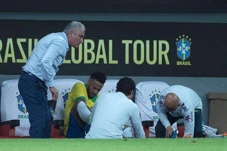 Médico de campo poderá interromper partidas na Copa América. EFE