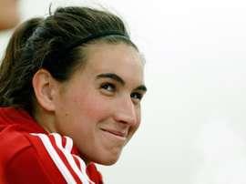 Mariona Caldentey dio la receta para hacer un buen papel en el Mundial. EFE