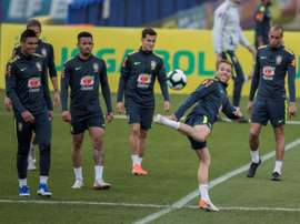 Arthur in Brazil training. EFE