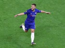 Hazard será apresentado esta quinta-feira no Santiago Bernabéu. EFE