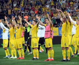 Ucrania aplasta a la Serbia de Jovic. EFE