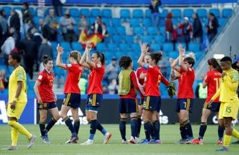 L'Espagne commence bien. EFE