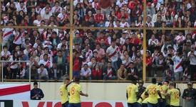 Colombia pasó por encima de Perú. EFE