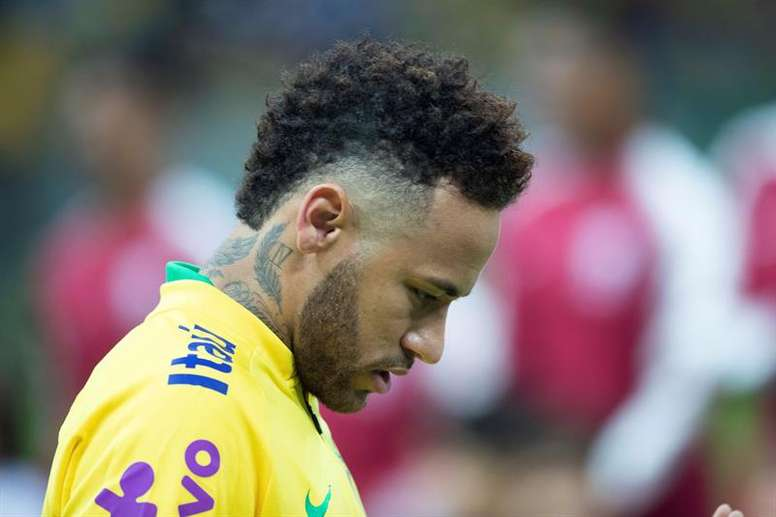 Neymar has reportedly told those at Barça he wants to return. EFE