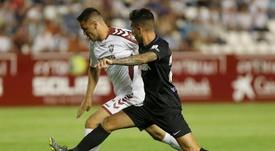 Manaj marcó contra el Málaga. EFE