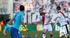 Mario Suárez aceptó la oferta para seguir en el Rayo. EFE