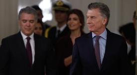 Macri habló de la denuncia de Messi durante la Copa América. EFE