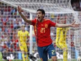Espanha derrota Suécia e mantém invencibilidade. EFE
