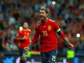 Sergio Ramos ne compte pas s'arrêter. AFP