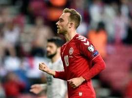 La liste du Danemark pour ses matches de qualification pour l'Euro 2020. EFE