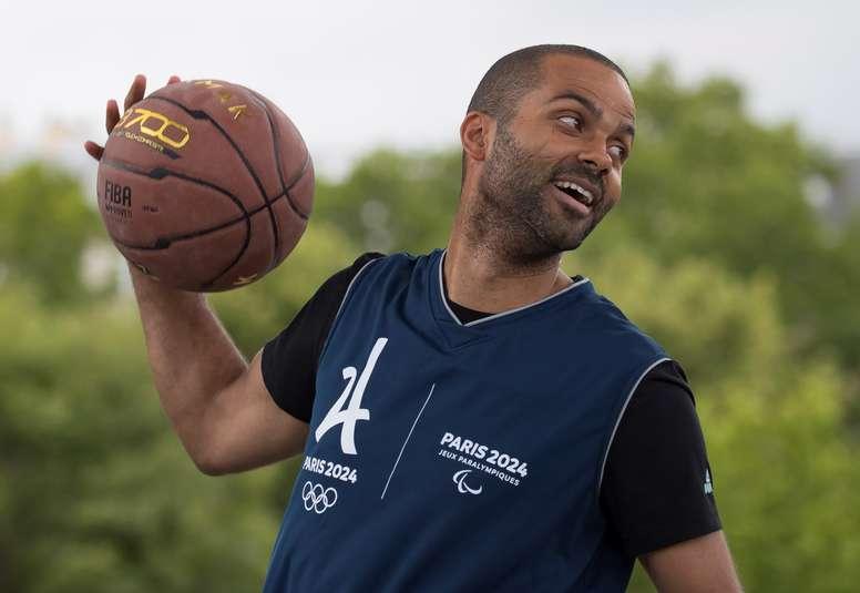 El jugador francés de baloncesto Tony Parker. EFE/Archivo