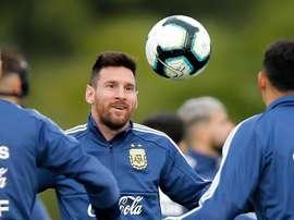 Luis Suárez s'est confié sur Lionel Messi. AFP