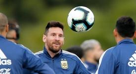 Messi, líder de los 12 líderes de la Copa América. EFE