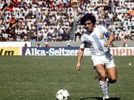 Maradona expressed his delight at knocking out Brazil 30 years ago. EFE