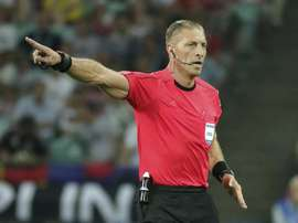 Nestor Pitana will take charge of the first Copa America game. EFE/Archivo
