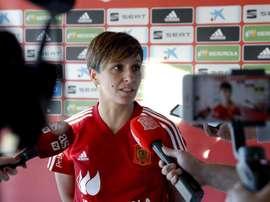 Le joueuse de la sélection espagnole, Marta Corredera. EFE/Archivo