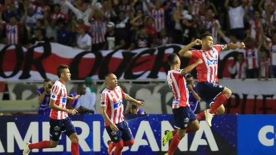 Junior, campeón del Apertura Colombia 2019. EFE