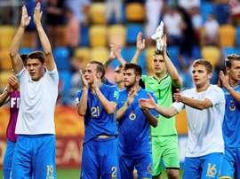 Ucrania ganó por la mínima a Italia en semifinales. EFE