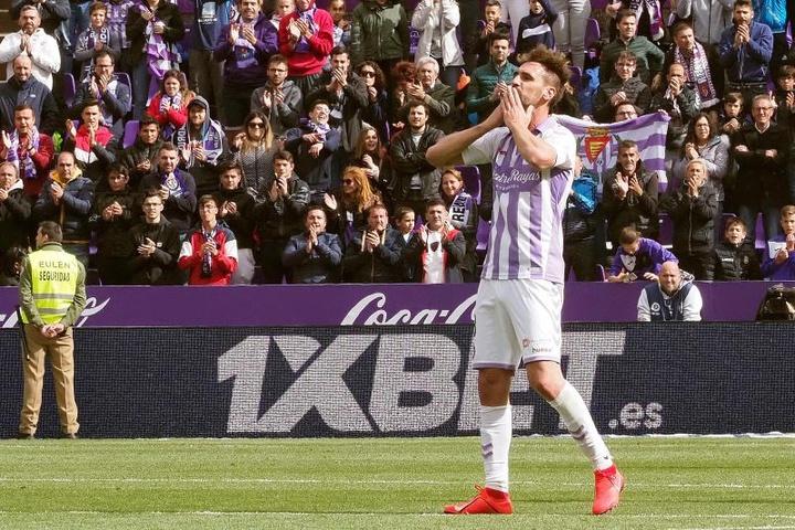 Borja empezará su carrera en los banquillos en el juvenil del Valladolid. EFE/Archivo