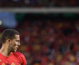 Roberto Martínez has hailed Eden Hazard. AFP