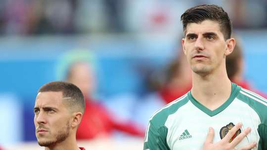 Courtois has now got 200 career clean sheets. EFE