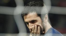 Buffon talvez renovará com a Juve. EFE