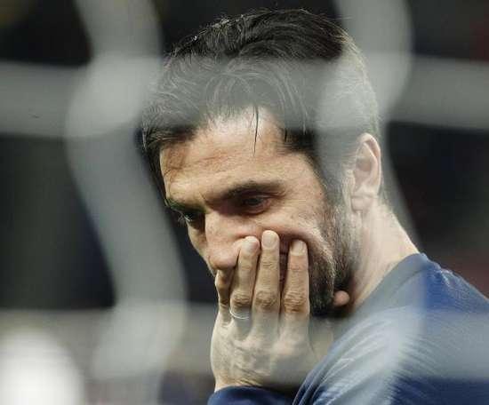 Buffon pourrait rejoindre l'Angleterre cet été. EFE/Archive