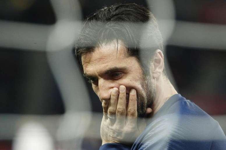Buffon revela porque saiu do PSG. EFE/Arquivo