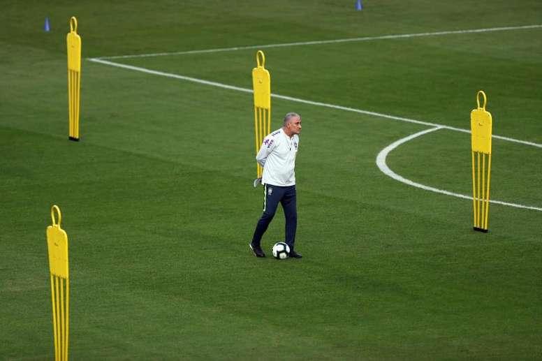 Tite es un enamorado de la Libertadores. EFE