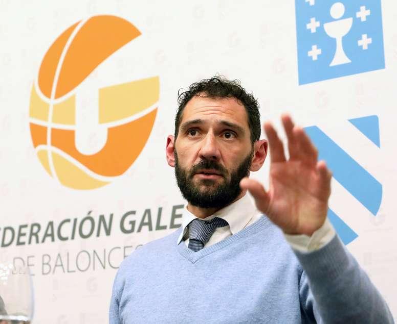 El presidente de la Federación Española de Baloncesto Jorge Garbajosa. EFE/Archivo