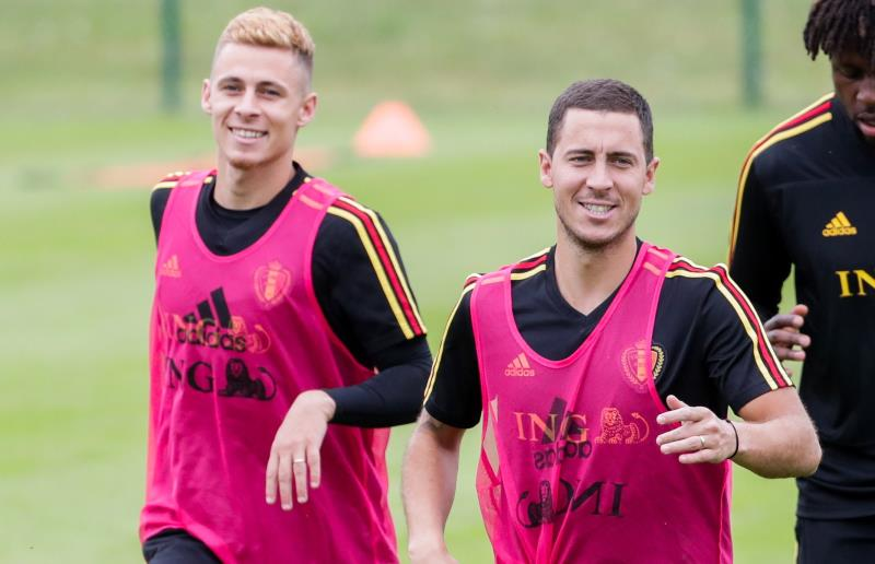 Hazard brothers both out of Belgium's European qualifiers