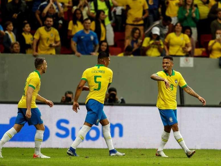 Dan a Brasil un 51% de opciones de ganar la Copa América. EFE