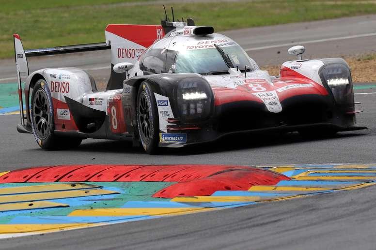 El español Fernando Alonso Toyota Gazoo Racing en la carrera del año pasado. EFE/EPA/Archivo