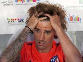 L'Atlético de Madrid songe à déposer une plainte contre le Barça pour Griezmann. EFE/Archive