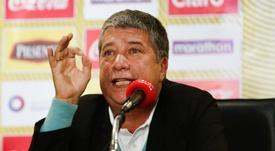 Hernán Darío Gómez salvó el puesto de entrenador tras la Copa América. EFE