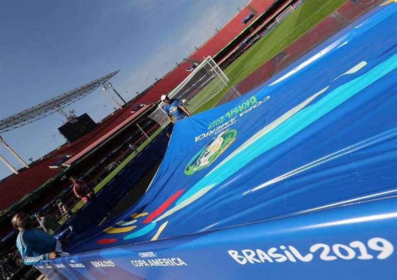 Las curiosidades de los participantes de la Copa América. EFE