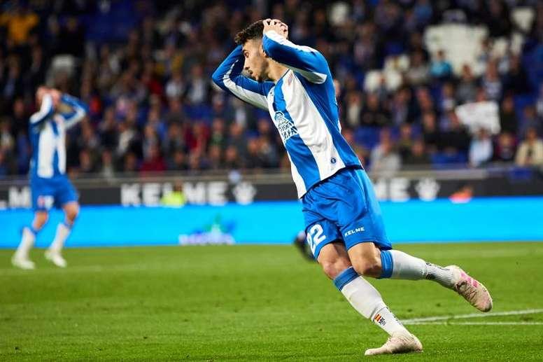 L'Espanyol tente de prolonger Hermoso. EFE