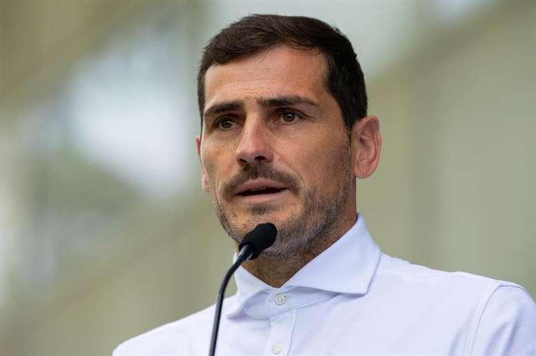 Casillas volvió a pedir tranquilidad. EFE/Archivo