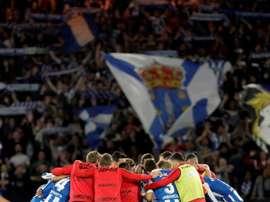 El Deportivo de la Coruña remontó al Málaga en Riazor. EFE