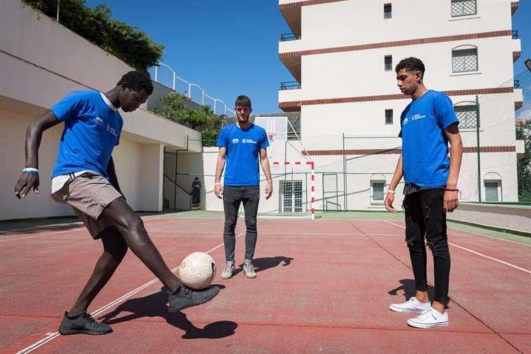 El fútbol como salida laboral. EFE