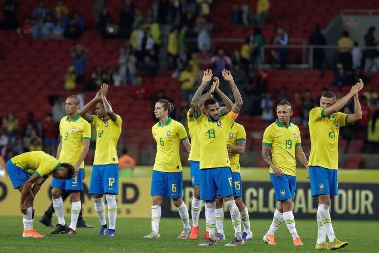 Le Brésil est privé de sa star. AFP